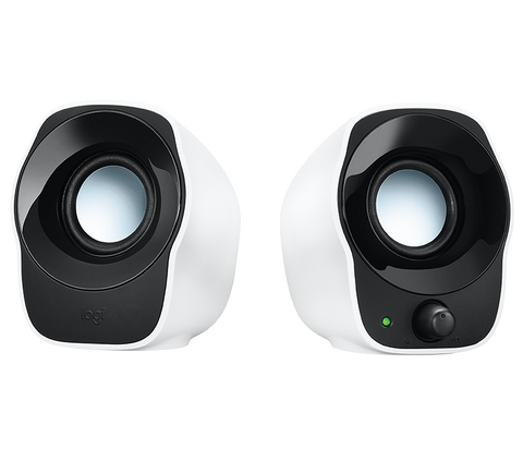 Logitech 2.0 Speakers White Z120