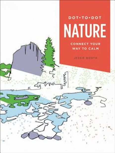 Dot to Dot Nature: Color Your Way to Calm