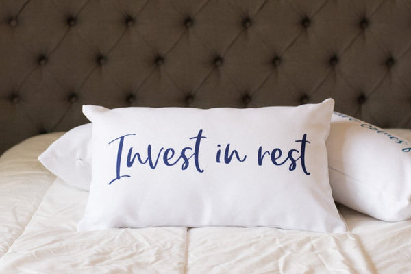 Invest In Rest Lumbar Pillow
