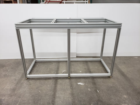 Extruded aluminum aquarium stand