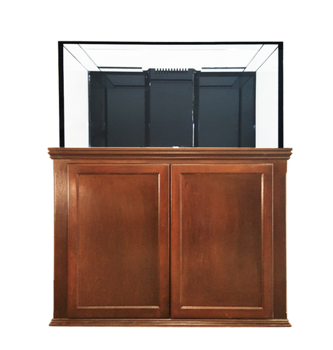 120 Gallon Crystal Reef Aquarium with Traditional Stand