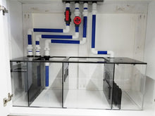 120 Gallon Crystal Reef Aquarium with Traditional Stand & Canopy