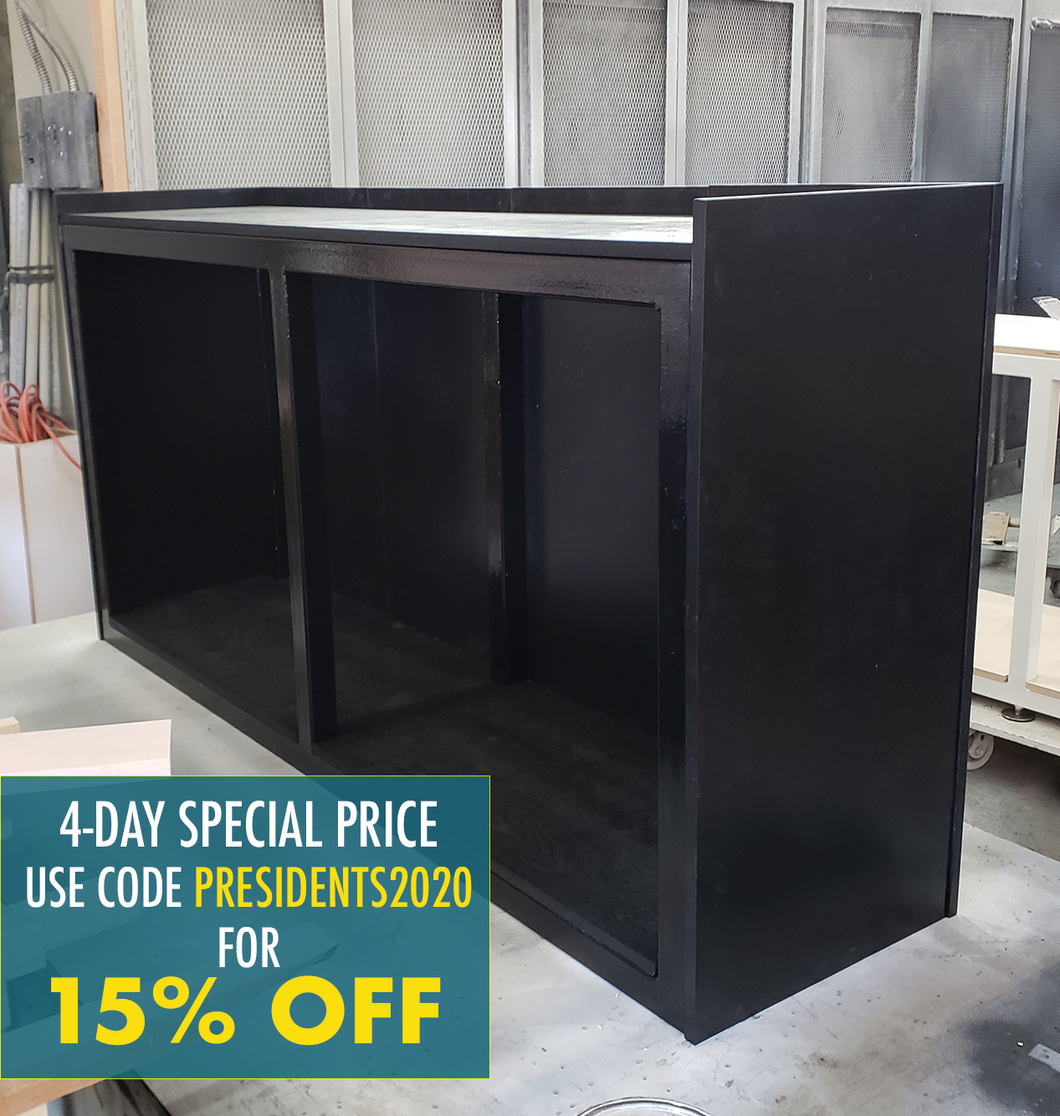 IN-STOCK: 72x18x36 Steel Stand with Magnetic Panels