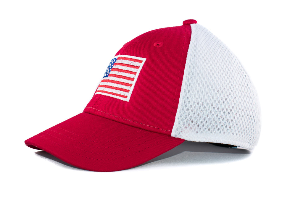 Red American Flag Cap