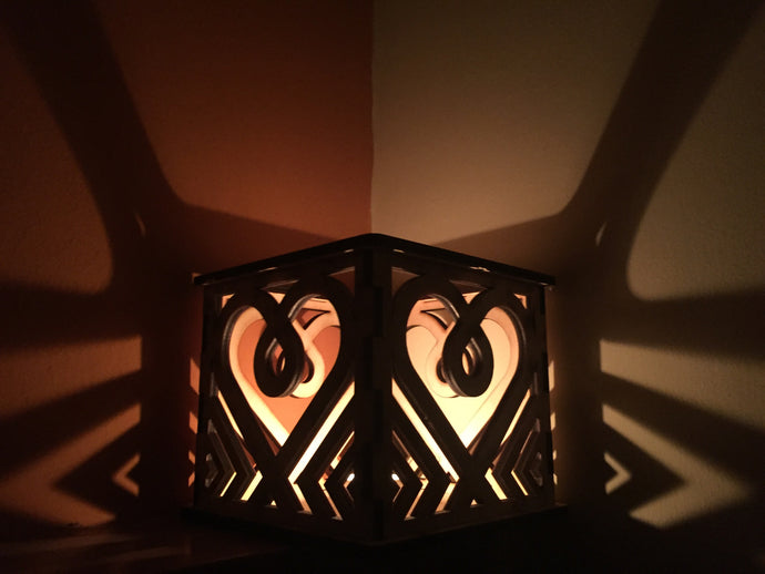 AscendToLove Candle Holder