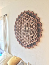 "33"" Flower of Life Mandala"