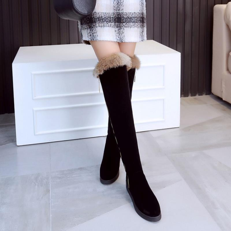 BOUJE Over The Knee Winter Boot