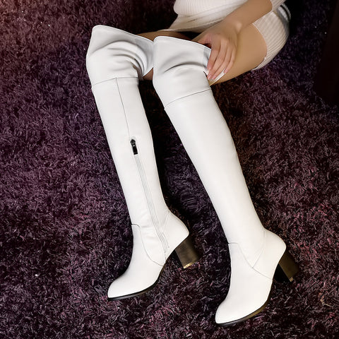 NANCY Knee High Winter Boot