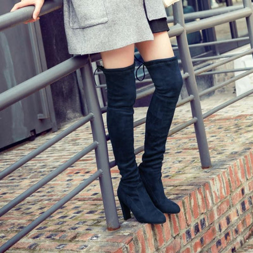 ALABAMA Over the knee boot