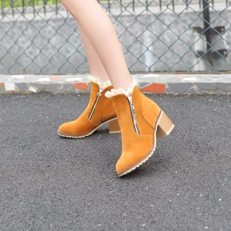 DAMSEL Ankle Bootie