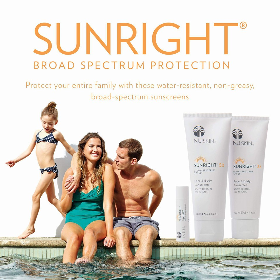 protect your skin with sunright