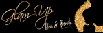 glam up hair and beauty logo