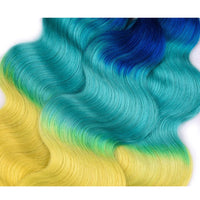 Yellow Bombshell Ombre - Indian Remy Body Wave - Glam Up Hair & Beauty