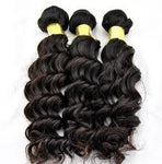 mink hair bundles, Spiral style, 100 grams each, 100% human hair