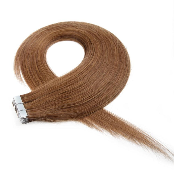 Medium Chestnut Brown (8) 20 Pieces - Glam Up Hair & Beauty