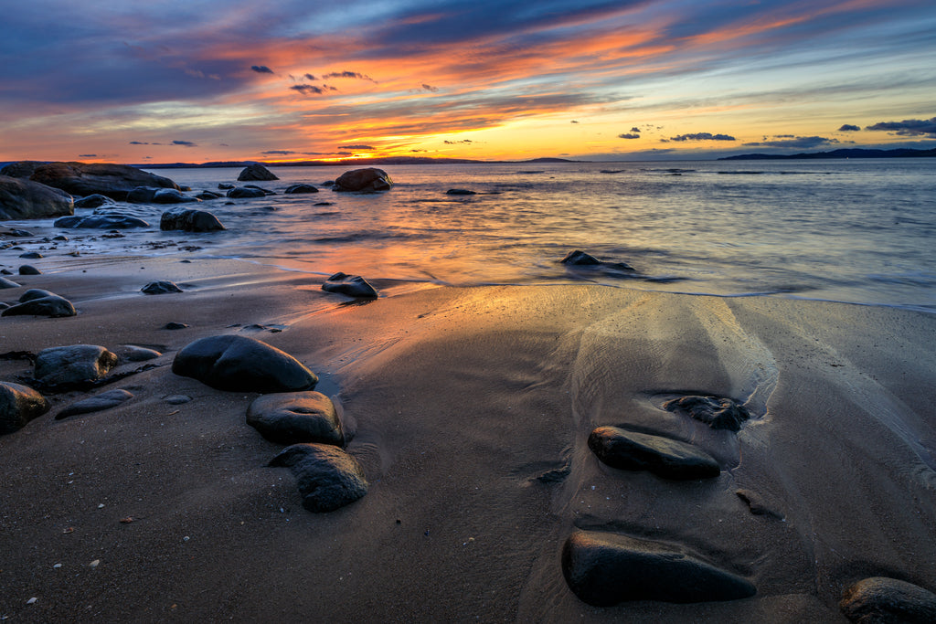 Hinsby Beach, Tasmania. Image taken in 2017