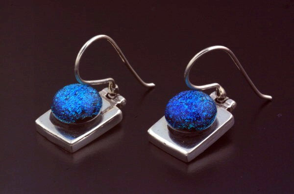 Dichroic & Art Glass Earrings
