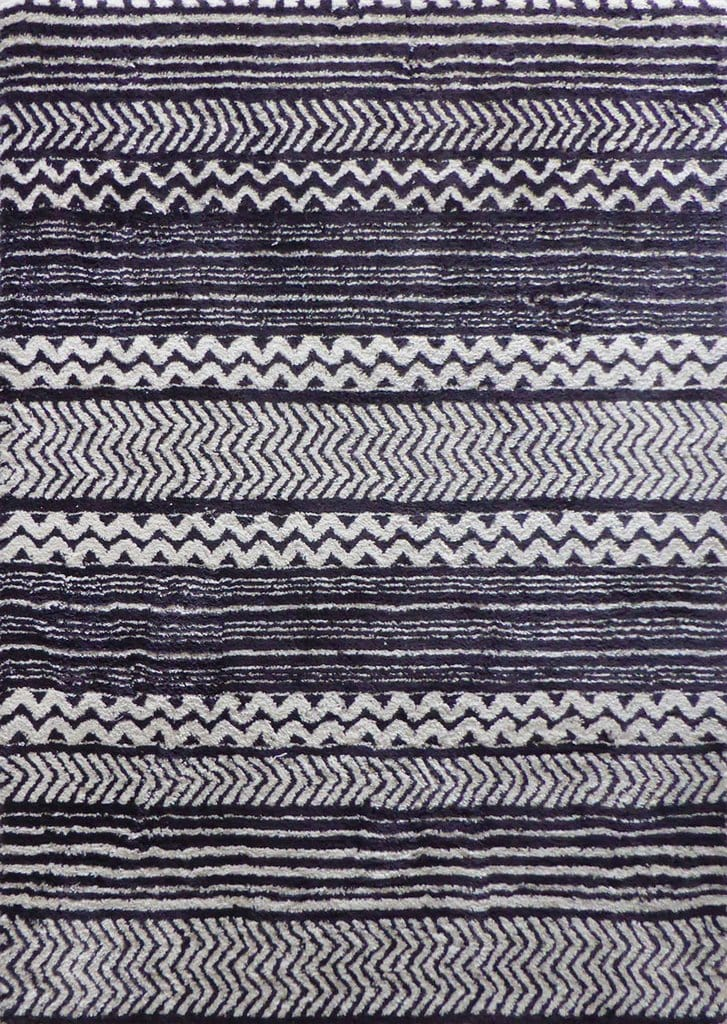 Rug Factory Plus, Luna Collection 73, Black & White