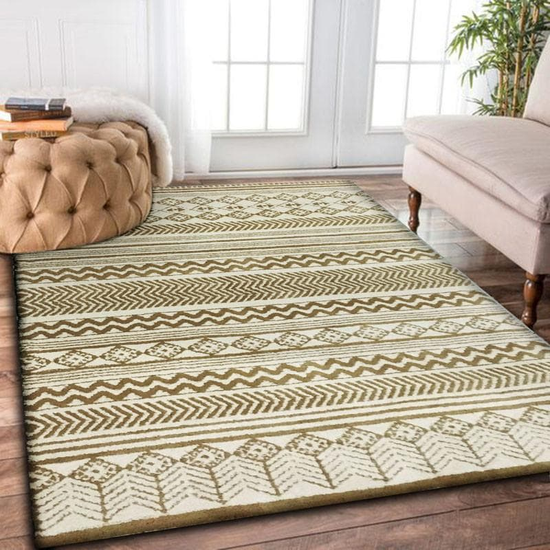 Rug Factory Plus, Luna Collection 74, Brown & White