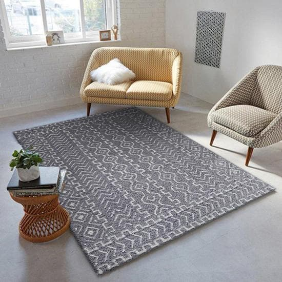 Rug Factory Plus, Luna Collection 80, Gray