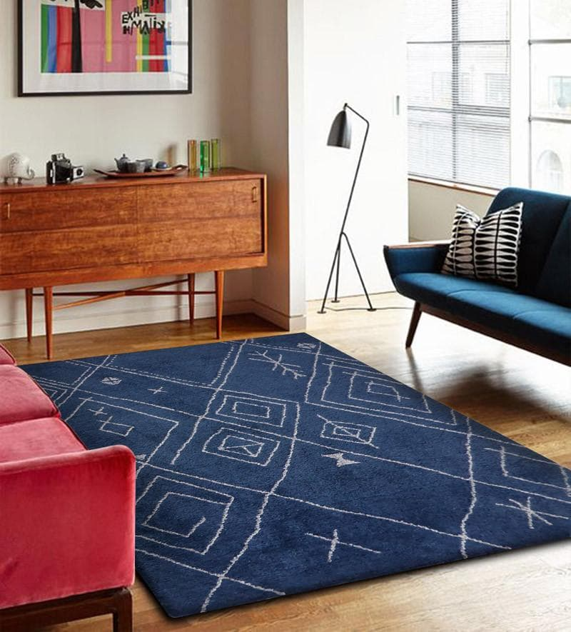 Rug Factory Plus, Luna Collection 83, Blue