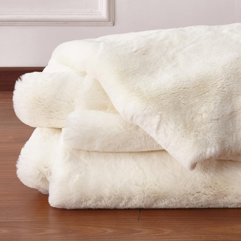 off white area rug. Faux Fur Rug - Factory Plus, Chinchilla Off White Area \u0026 Bed