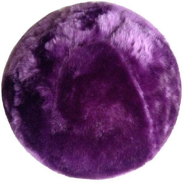 Fuzzy Yoga Ball - Rug Factory Plus, Bouncy Ball Collection, Bouncy Ball White
