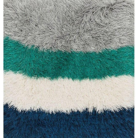 Loloi Rugs, Allure Shag Collection, AQ-1 Platinum Shag And Faux Fur Area Rug-Warm Fuzzies Place