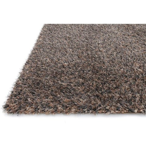 Loloi Rugs, Callie Shag Collection, CJ-01 Brown & Multi Plush Area Rug-Warm Fuzzies Place