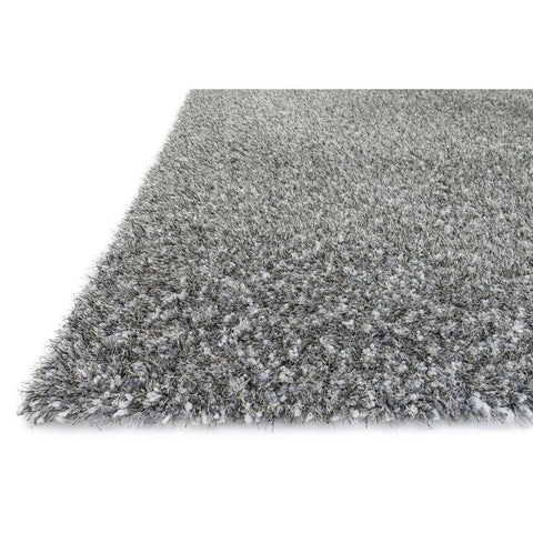 Loloi Rugs, Callie Shag Collection, CJ-01 Slate & Multi Plush Area Rug-Warm Fuzzies Place