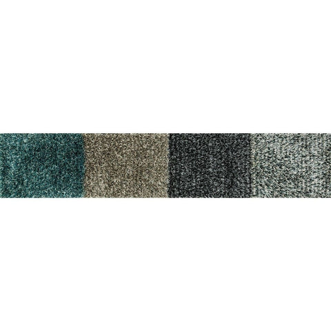 Loloi Rugs, Carrera Shag Collection, CG-02 Mist & Slate Shag Area Rug-Warm Fuzzies Place