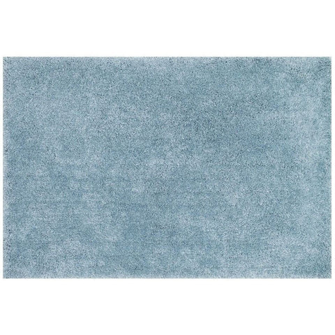 Loloi Rugs, Cozy Shag Collection, CZ-01 Light Blue Super Soft Area Rug-Warm Fuzzies Place