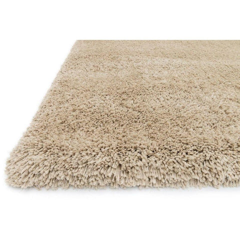 Loloi Rugs, Cozy Shag Collection, CZ-01 Sand Color Super Soft Area Rug-Warm Fuzzies Place