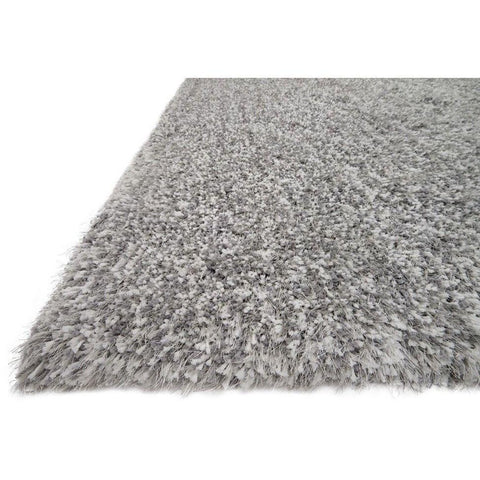 Loloi Rugs, Kendall Shag KD-01 Grey Area Rug-Warm Fuzzies Place