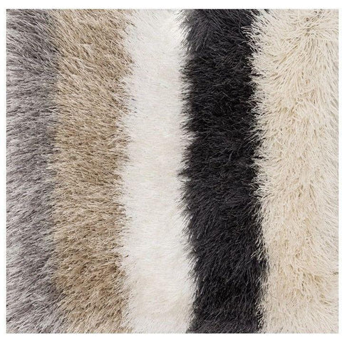 Loloi Rugs, Orian Shag OR-01 Silver Super Soft Shag Area Rug-Warm Fuzzies Place