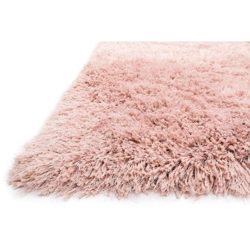 Shag Rug - Loloi Rugs, Celeste Shag Collection, Blush Microfiber And Lurex Shag Rug
