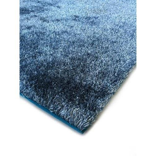 Shag Rug - Rug Factory Plus, Amore Shag Collection, 2Tone Blue Area Rug