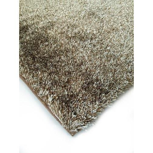 Shag Rug - Rug Factory Plus, Amore Shag Collection, 2Tone Brown Area Rug