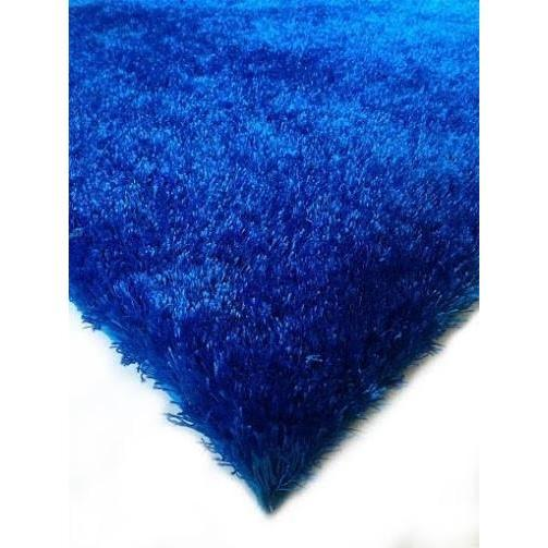 Shag Rug - Rug Factory Plus, Amore Shag Collection, Electro Blue Area Rug