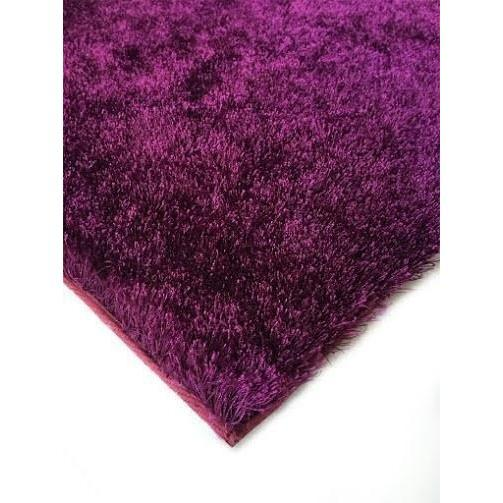 Shag Rug - Rug Factory Plus, Amore Shag Collection, Magenta Area Rug