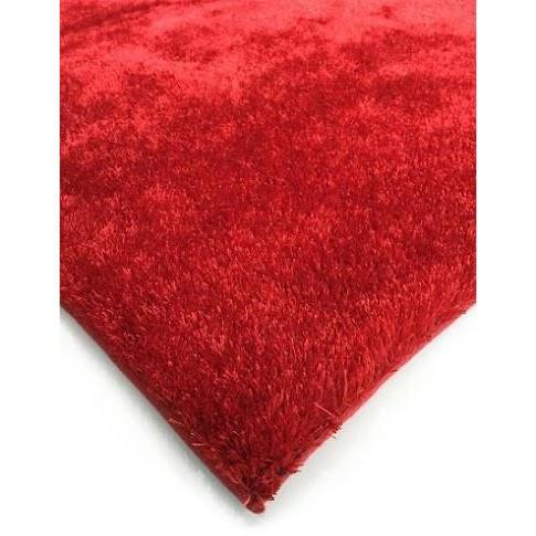 Shag Rug - Rug Factory Plus, Amore Shag Collection, Red Area Rug