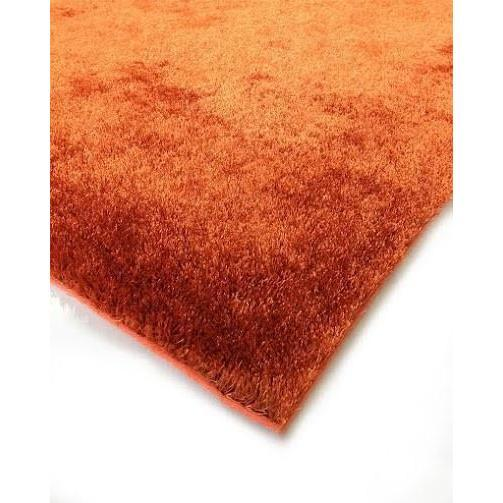 Shag Rug - Rug Factory Plus, Amore Shag Collection, Rust Area Rug