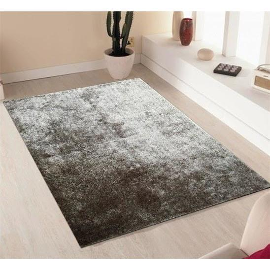 Shag Rug - Rug Factory Plus, Amore Shag Collection, Silver Area Rug