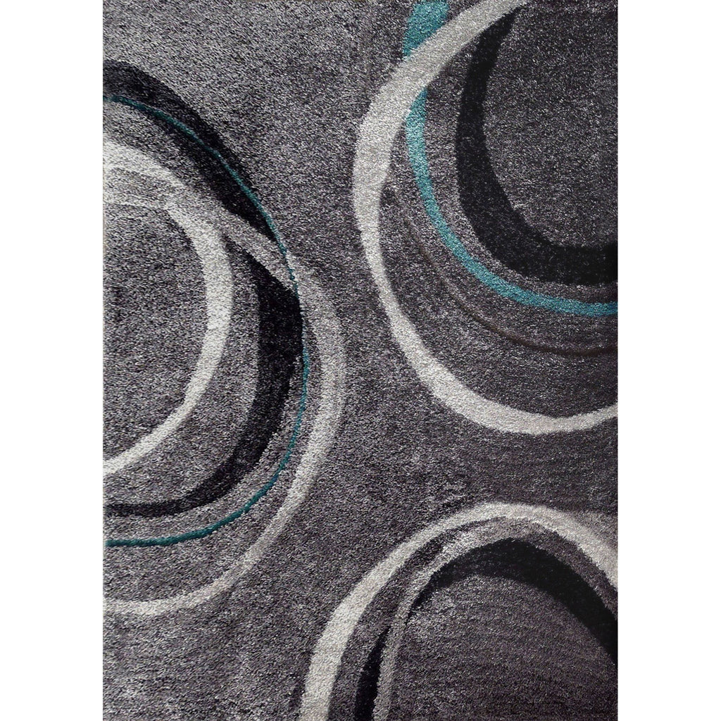 Shag Rug - Rug Factory Plus, Lo La Shag 11 Gray Area Rug