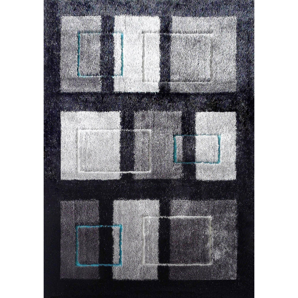Shag Rug - Rug Factory Plus, Lo La Shag 15 Gray Area Rug