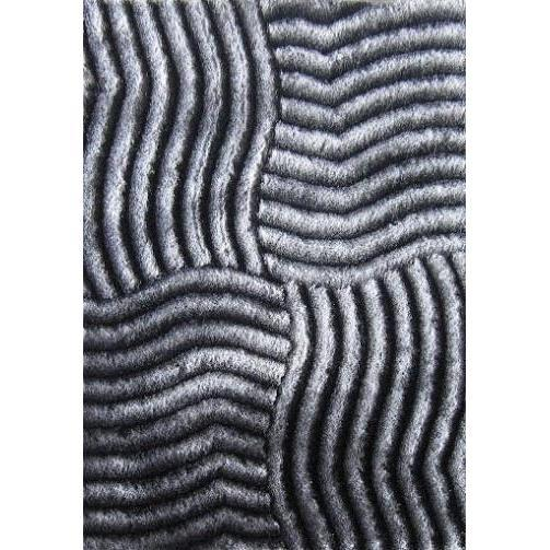 Shag Rug - Rug Factory Plus, Shaggy 3D 311 Gray Area Rug