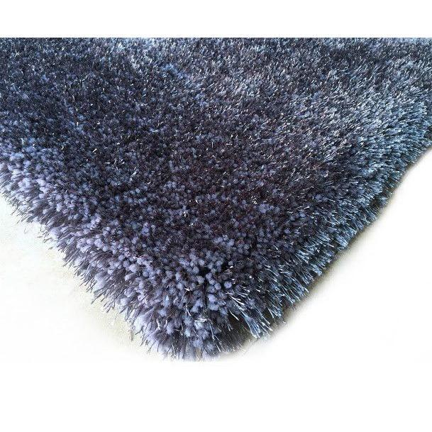 Shag Rug - Rug Factory Plus, Shaggy Viscose Solid Collection, Grey Shag Area Rug
