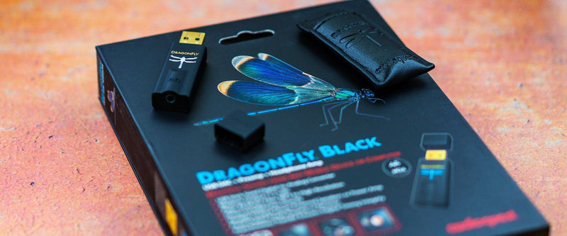 AudioQuest Dragonfly Black - USB DAC/Amp - Review