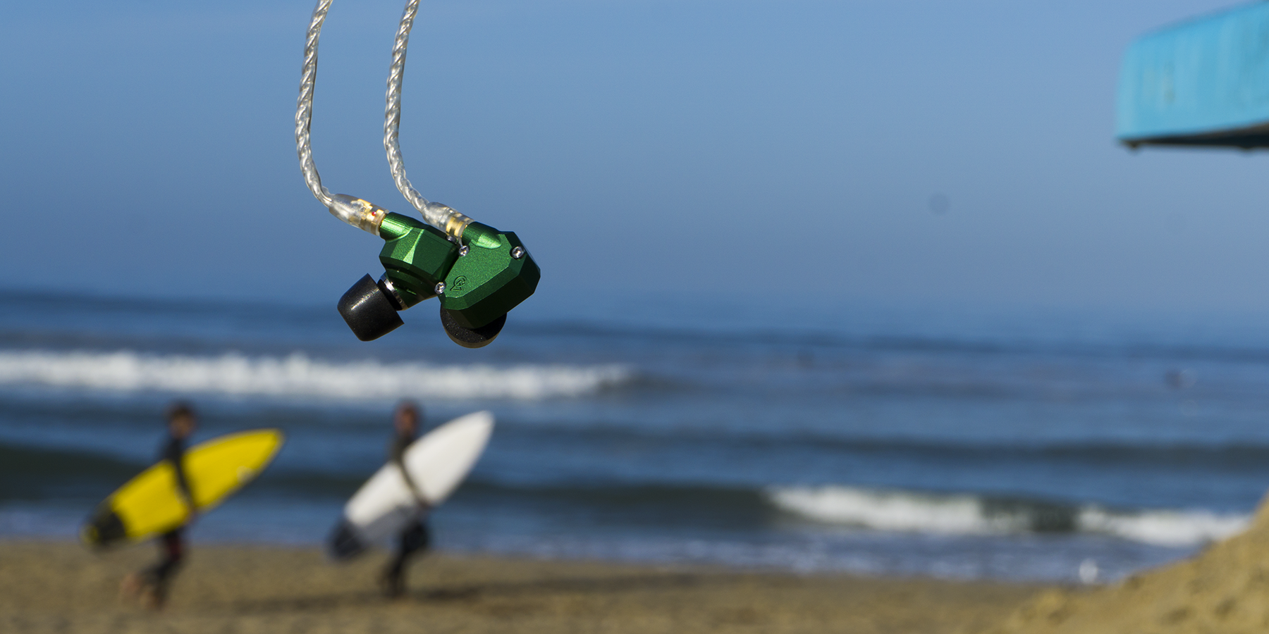 Campfire Audio Andromeda In-Ear Monitor Headphones on Hunnington Beach