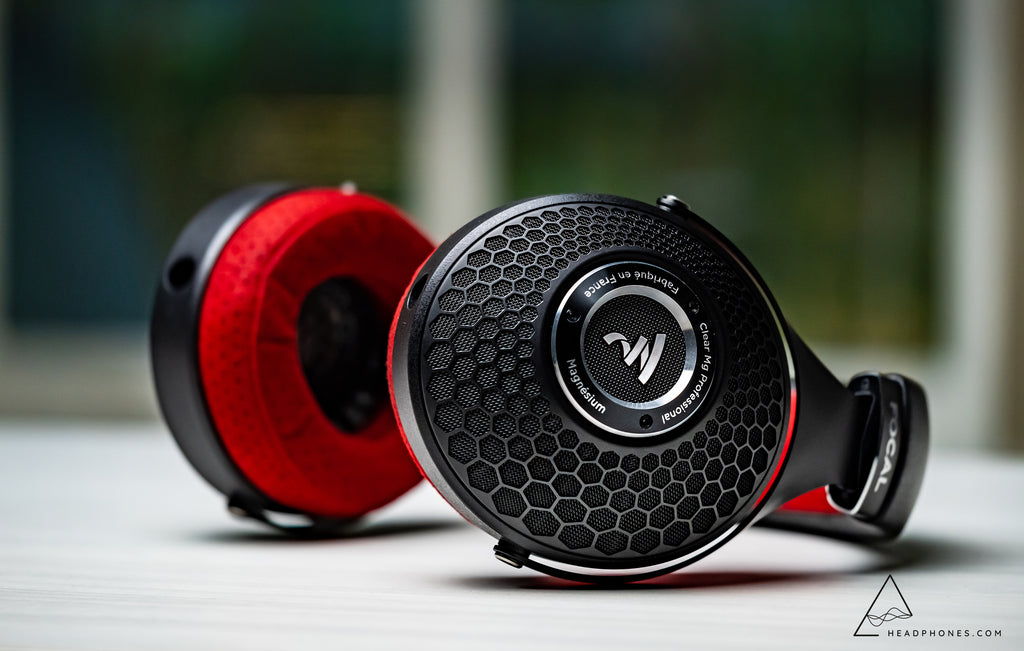 Focal Clear Pro Mg Dynamic Over-Ear Open-Back Stereo Headphones handcrafted in France | Available for purchase on Headphones.com
